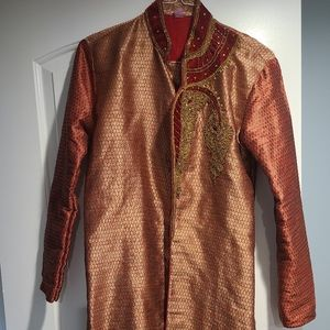 Men's Indian Tunic Kurta / Sherwani Wedding Outfit